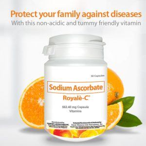 Sodium Ascorbate supplements Royale-c at Forever20