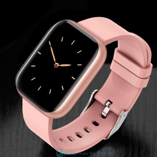 Unisex Smartwatch and Fitness Tracker With Heart Rate Monitor, Pulse Oximeter, Blood Oxygen Monitor, Blood Pressure Monitor Smart Watch forever20 uganda