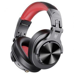 Oneodio Fusion A70 Bluetooth Headphones Stereo Over Ear Wireless Headset Professional Recording Studio Monitor DJ Headphones.