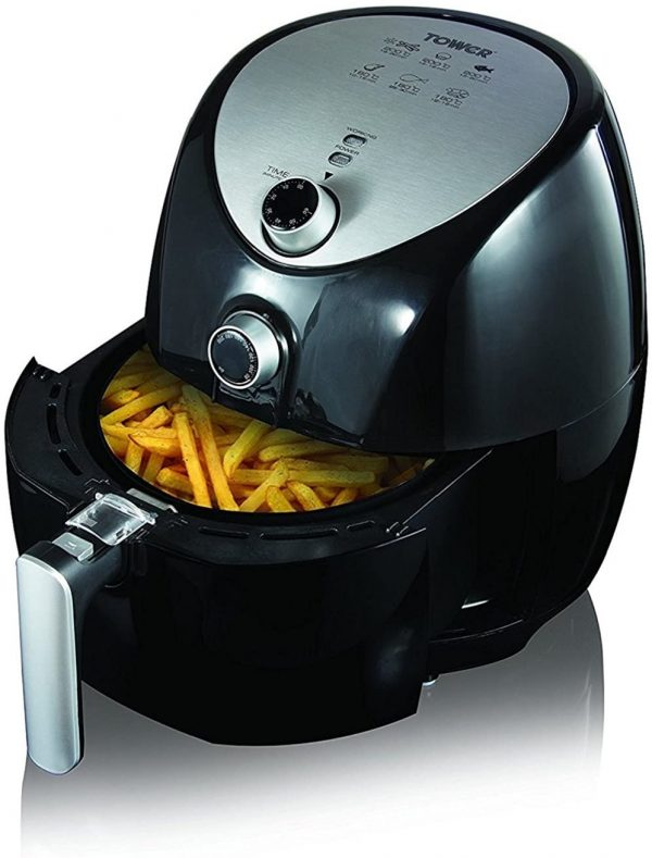 Tower Air Fryer with Rapid Air Circulation System Forever 20 Uganda